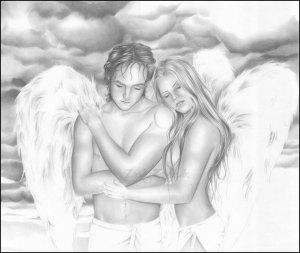 angel-love-hug-drawing